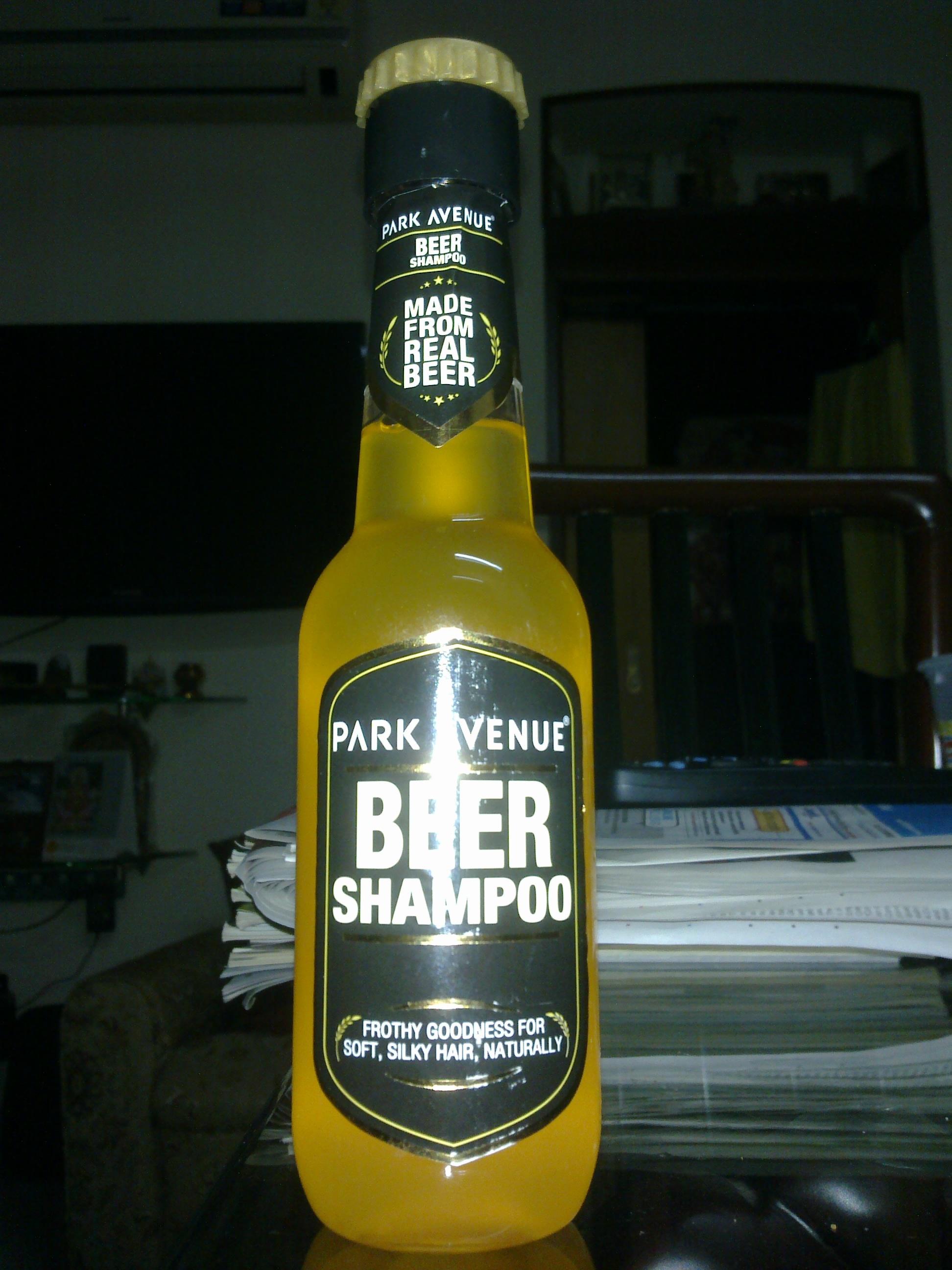 Park Avenue Beer Shampoo