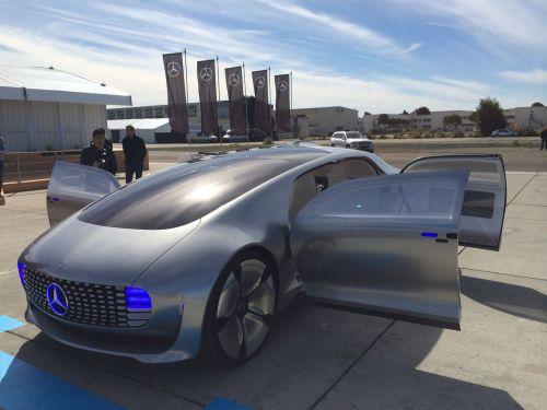 Mercedes self drive